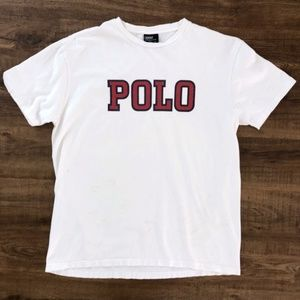Polo Ralph Lauren Men's Vintage Spelled Out Shirt